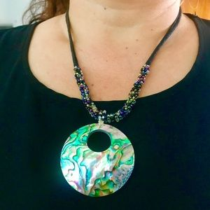 Gorgeous Abalone Necklace